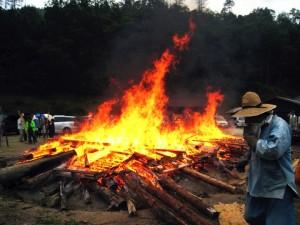 縄文野焼き祭り
