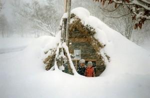 竪穴住居「風風庵」(1991年)